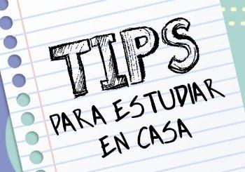 5 tip's para estudiar en casa en esta cuarentena.